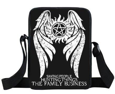 Saving People Supernatural Mini Messenger Bag
