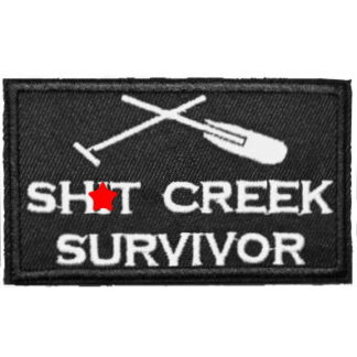 Sh*t Creek Survivor Iron-On Patch
