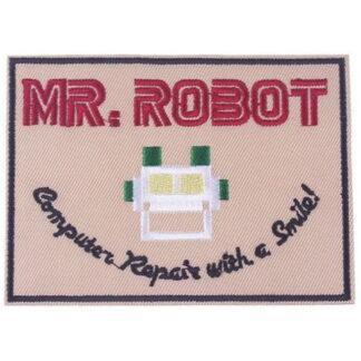 Mr Robot Iron-On Patch