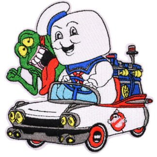 Ghostbusters Car Iron-On Patch