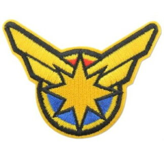 Captain Marvel Iron-On Patch
