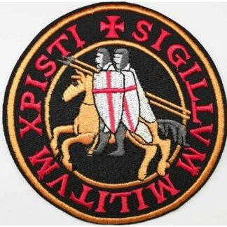 Knights Templar Iron-On Patch