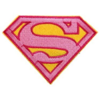 Supergirl Iron-On Patch