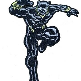 Black Panther Iron-On Patch #1