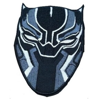 Black Panther Iron-On Patch #2