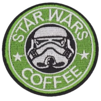 Star Wars Coffee Iron-On Patch