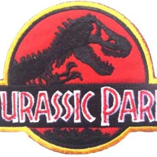 Jurassic Park Iron-On Patch