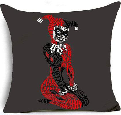 Harley Quinn Pillow Cover #1