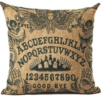 Ouija Board Pillow Cover
