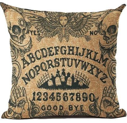 Ouija Board Pillow Cover