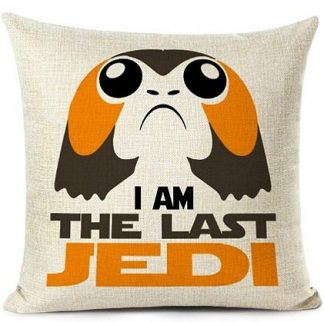 Star Wars The Last Jedi Porg Pillow Cover
