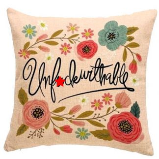 Uf*ckwithable Pillow Cover
