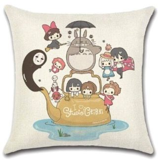 Studio Ghibli Anime Pillow Cover #1
