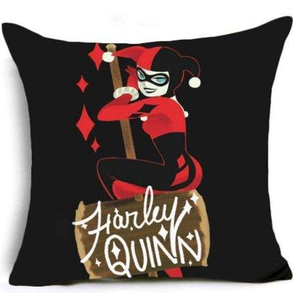 Harley Quinn Pillow Cover #2