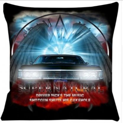 Supernatural Pillow Cover #1