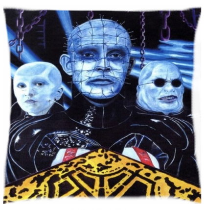 Hellraiser Pinhead Pillow Cover