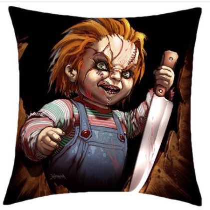 Child's Play Chucky Pillow Cover #1