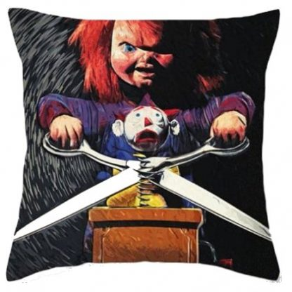 Child's Play Chucky Pillow Cover #3