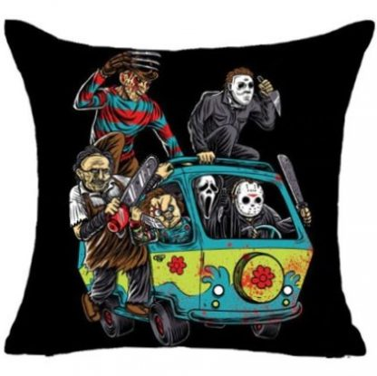 Horror Scooby Gang Pillow Cover
