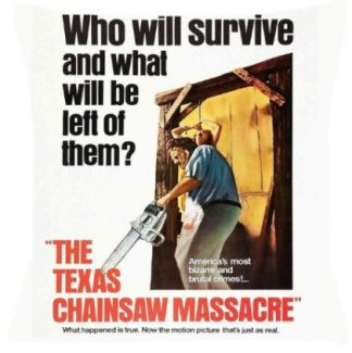 Texas Chainsaw Massacre Pillow Cover