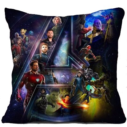 The Avengers Pillow Cover #1