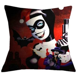 Harley Quinn Pillow Cover #2