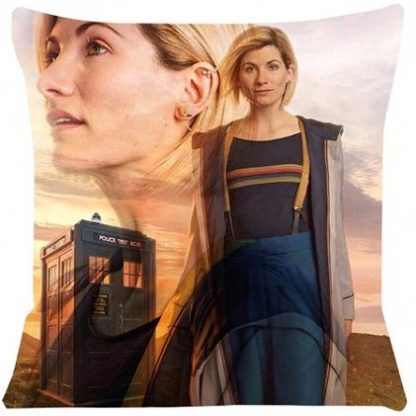 Doctor Who Jodie Whittaker Pillow Cover