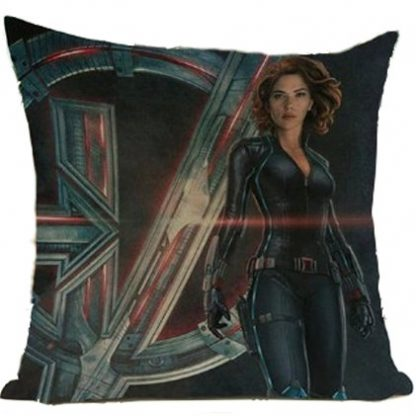 The Avengers Black Widow Pillow Cover