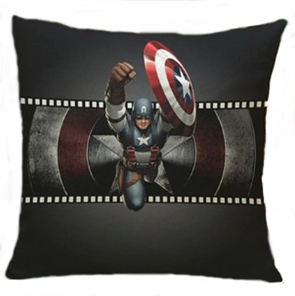The Avengers Captain America Pillow Cover