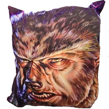 Universal Classic Monsters The Wolfman Pillow Cover