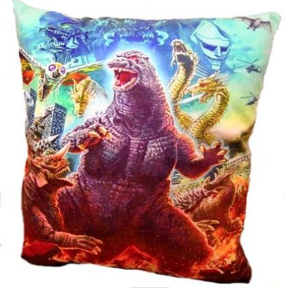 Classic Godzilla Pillow Cover