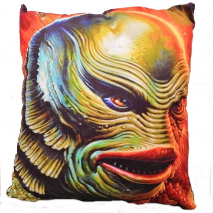 Universal Classic Monsters Creature from the Black Lagoon Pillow Cover