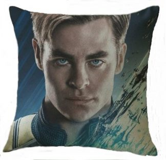 Star Trek Captain Kirk (Chris Pine) Pillow Cover