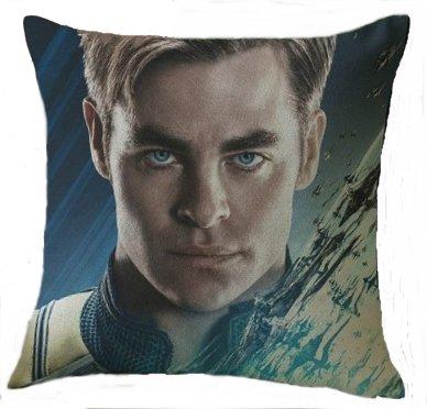 Star Trek Captain Kirk (Chris Pine) Pillow Cover