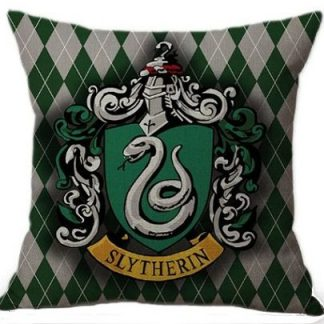 Harry Potter Slytherin House Pillow Cover