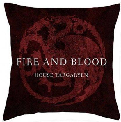 Game of Thrones House Targaryen Pillow Cover