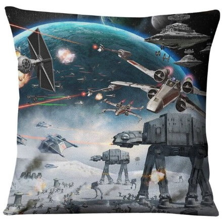 Star Wars Empire Strikes Back Battle Pillow Cover