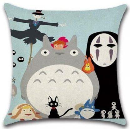 Studio Ghibli Anime Pillow Cover #3