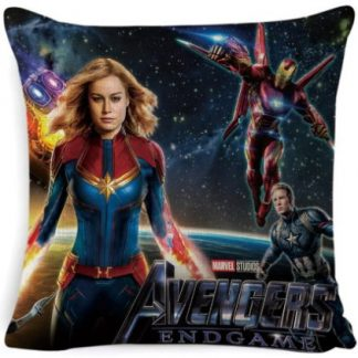 The Avengers Captain Marvel Pillow Cover #1
