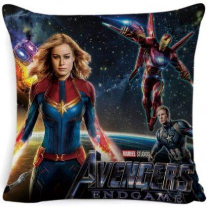 The Avengers Captain Marvel Pillow Cover #1