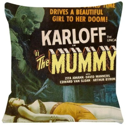 Universal Classic Monsters The Mummy Pillow Cover