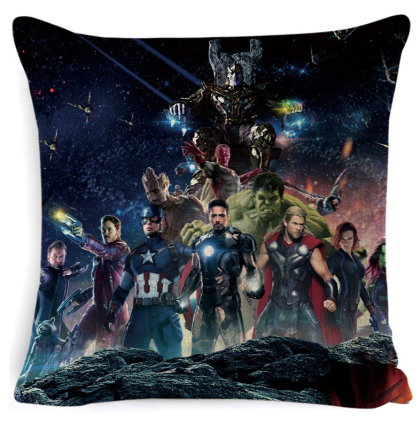 The Avengers Pillow Cover #2