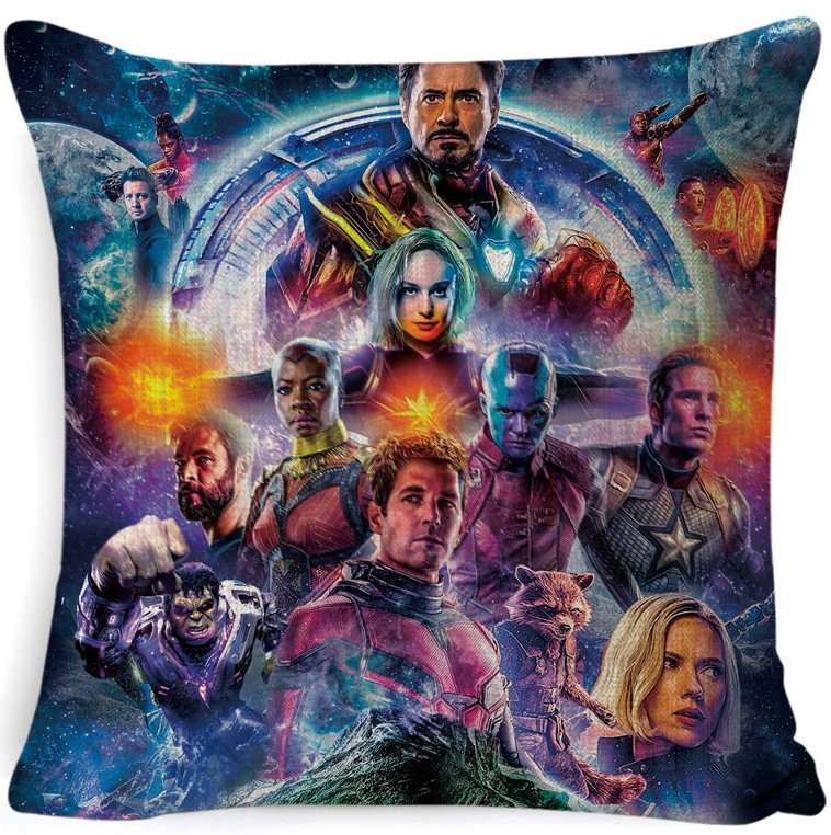 The Avengers Pillow Cover #3