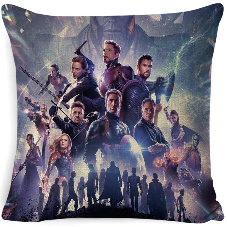 The Avengers Pillow Cover #4
