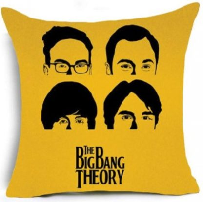 The Big Bang Theory Pillow Cover