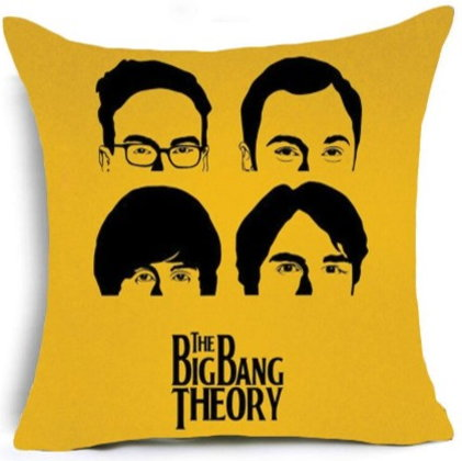 The Big Bang Theory Pillow Cover