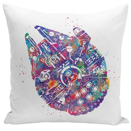 Star Wars Millennum Falcon Pillow Cover #2