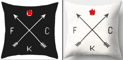 F*ck F*ckity F*ck Pillow Cover #2