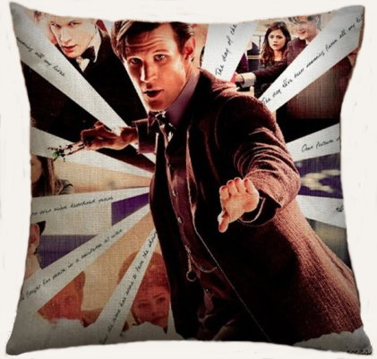Doctor Who Pillow Cover #3