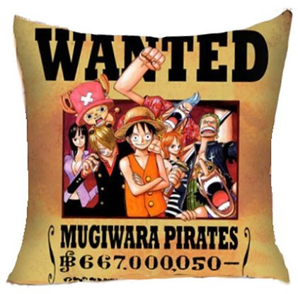 Anime - One Piece Pillow Cover #1